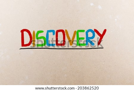 Discovery Concept - stock photo
