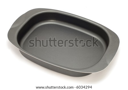 dish for cake - stock photo