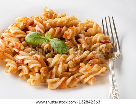 Fusilli Pasta Stock Images, Royalty-Free Images & Vectors ...