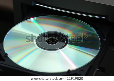 Disk in the  drive