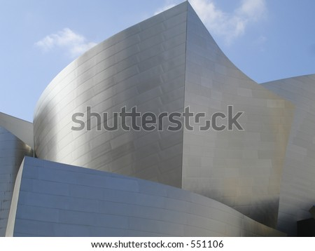 Disney Hall Concert Hall in downtown Los Angeles