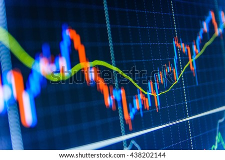 Market Analysis Variation Report Share Price Stock Photo 436792309