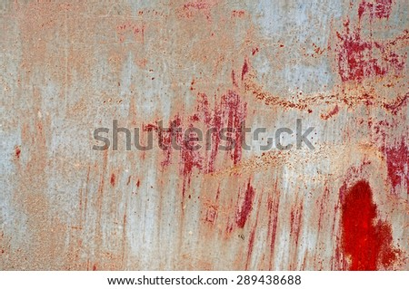 Distress red grunge background for your design. - stock photo