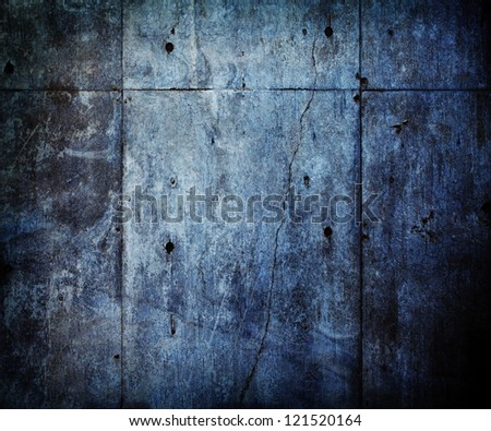 Distressed and old concrete wall. - stock photo