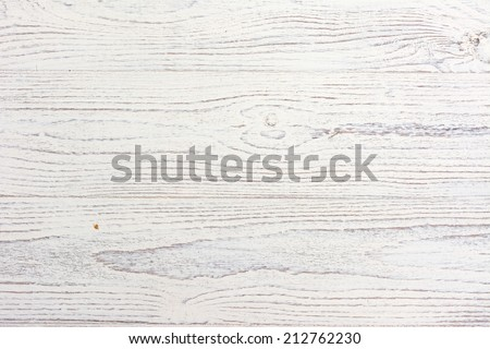 Distressed and Weathered White Wood Background - stock photo