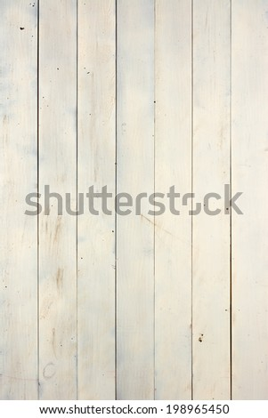 Distressed Milk White Painted Wood Background Texture