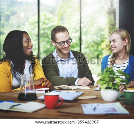 Diverse People Friendship Togetherness Connection Communication Concept