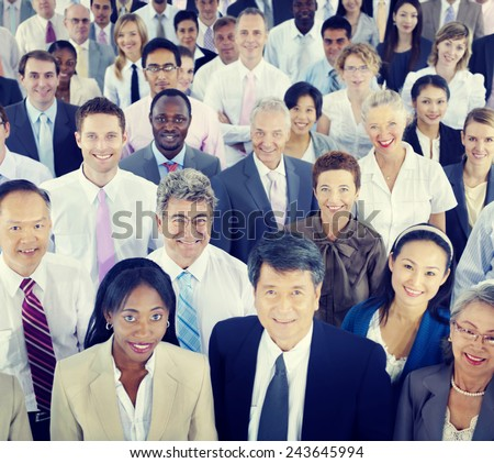 Diversity Business People Coorporate Team Community Concept - stock photo