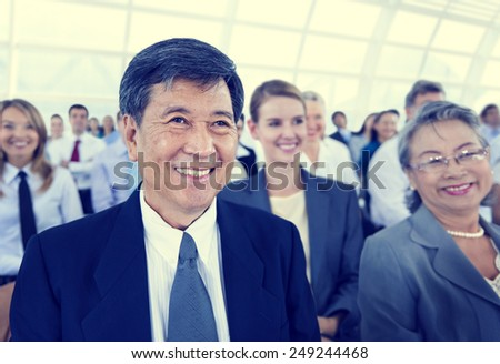 Diversity Business people Meeting Team Coorporate Concept - stock photo