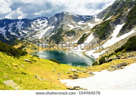 diversity of the mountain - stock photo