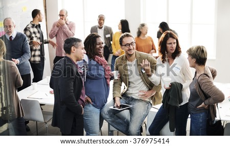 Diversity People Group Team Meeting Concept - stock photo