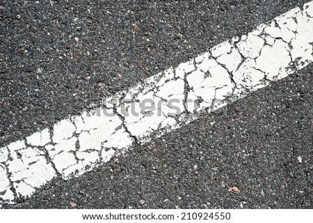 Dividing line - stock photo