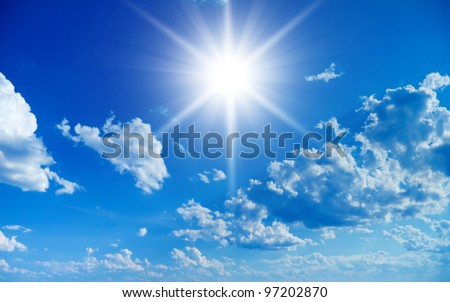 Divine Scene Eternal Peace - stock photo