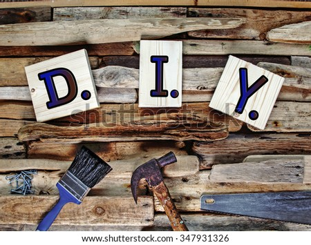 Diy design banner sign do yourself stock photo 347931326 shutterstock diy design banner sign for do it yourself interior design house solutioingenieria Image collections