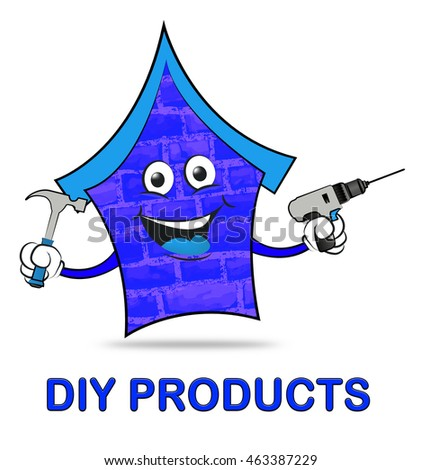 Diy products meaning do yourself real stock illustration 463387229 diy products meaning do it yourself and real estate solutioingenieria Image collections