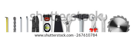 DIY tools - stock photo