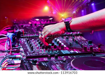 Dj Mixer Stock Images Royalty Free Images Amp Vectors