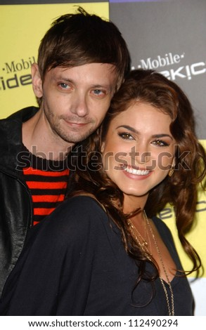 DJ Qualls and Nikki Reed at the launch of T-Mobile Sidekick ID, T-Mobile Sidekick Lot, Hollywood, CA. 04-13-07