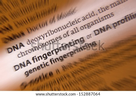 Who Done It? DNA Fingerprinting and Forensics *