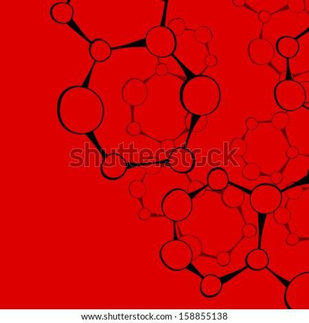 DNA molecule - stock photo