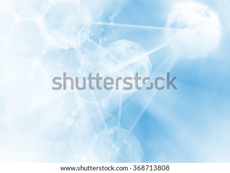 DNA molecule structure background.  - stock photo