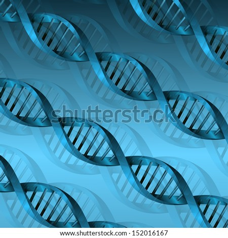 DNA molecule structure background. bitmap