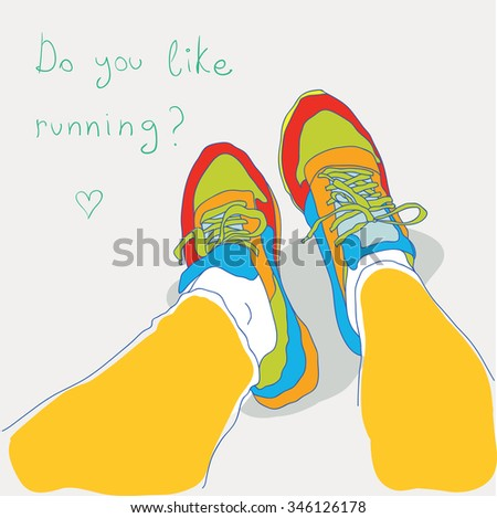 do you like running? sport sneakers.