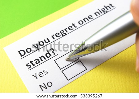 One night stands and regret essay