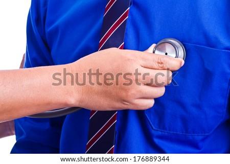 Doctor. - stock photo