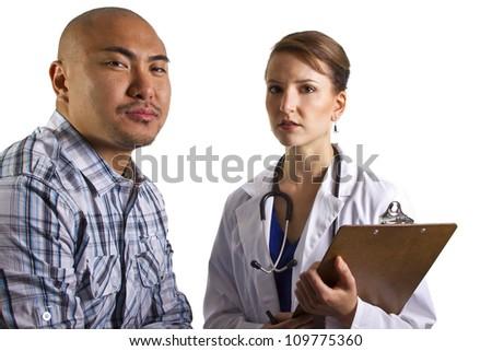 Doctor Consultation - stock photo