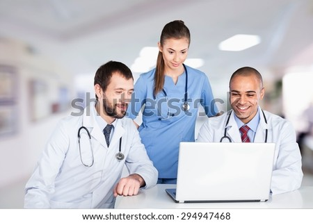 Doctor, Healthcare And Medicine, Computer.