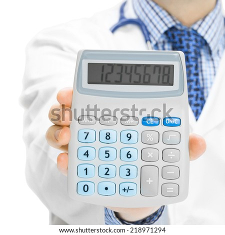 Doctor holdling calculator - 1 to 1 ratio