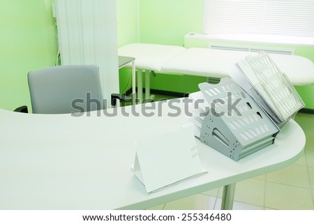 Doctor office interior - stock photo