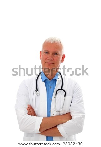 Doctor with crossed armes