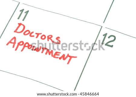 Doctors Appointment - stock photo
