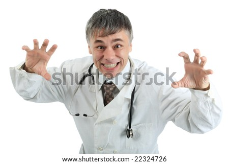 Doctors are working - medicine  background. - stock photo