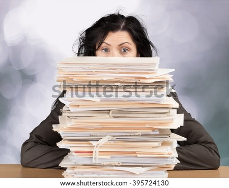 Document. - stock photo