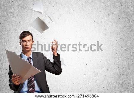 Document. Best options - stock photo