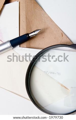 Documents - stock photo