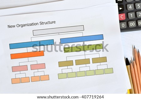 Documents and office supplies at workplace,business concept. - stock photo