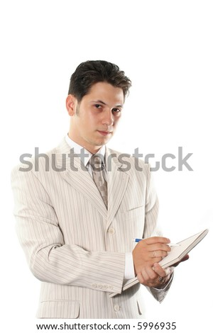 documents business adult men businessman isolated success - stock photo