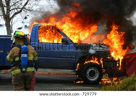 Dodge Ram Fire (Shelton, CT)