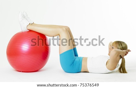 doing exercises