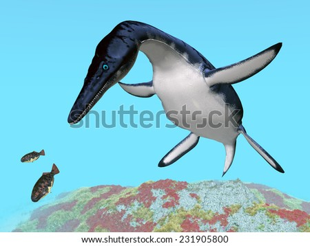 Dolichorhynchops Computer generated 3D illustration - stock photo