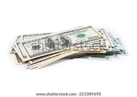 dollar bill - stock photo