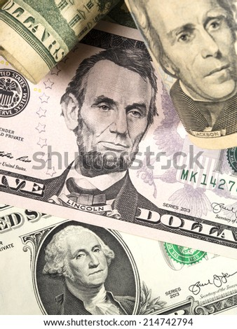 Dollar bills - stock photo