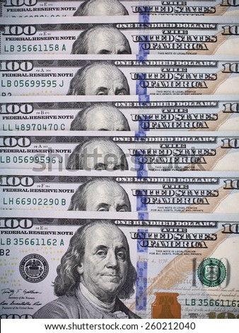 Dollar money background for your use - stock photo