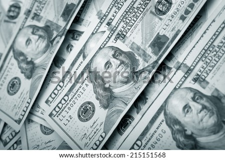 Dollar Photography: US One Hundred Dollar Bill Macro