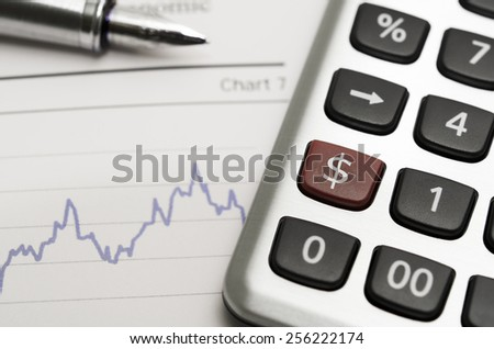 Dollar Rate - stock photo