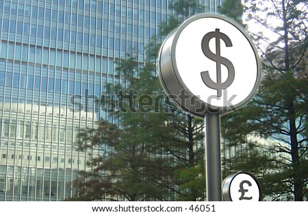 Dollar Sign - stock photo
